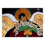 El ángel en enero Oliverio de la resurrección Felicitación