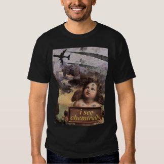 El ángel en Madonna de Foligno considera chemtrail Playera