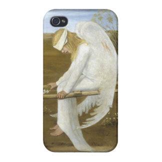 El ángel herido (detalle) iPhone 4 funda