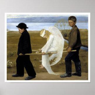 El ángel herido póster