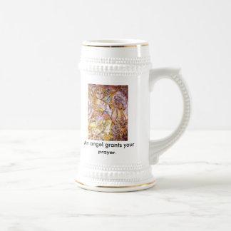 El ángel Moloney., un ángel concede su rezo Taza De Café