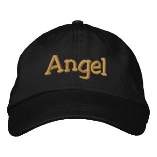 El ángel personalizó la gorra de béisbol/el gorra
