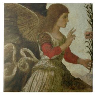 El ángel que anuncia Gabriel Azulejo Cuadrado Grande