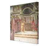 El ángel que aparece a St. Zacharias en Impresiones De Lienzo