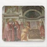 El ángel que aparece a St. Zacharias en Tapete De Ratones