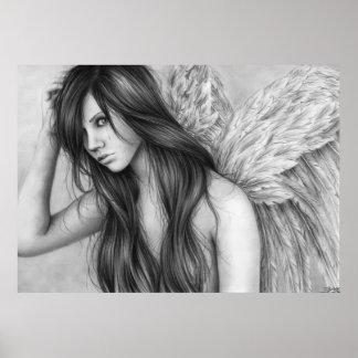El ángel rasga el poster