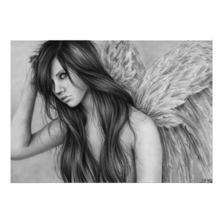 El ángel rasga el poster póster