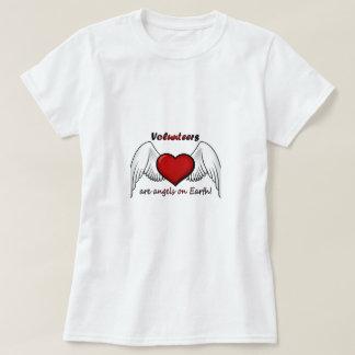 El ángel se ofrece voluntariamente la camiseta camisas