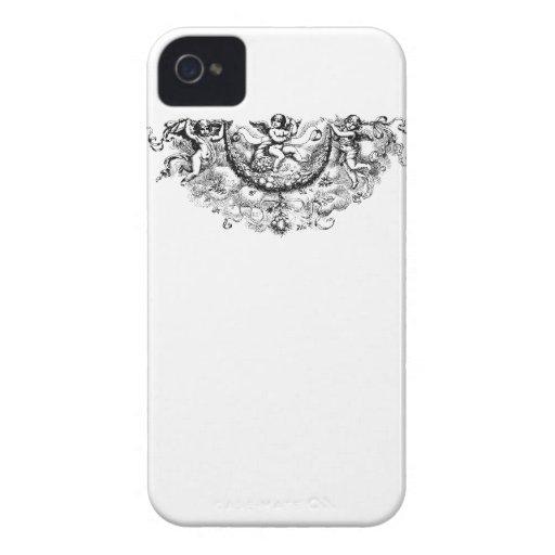 El ángel se va volando ángeles del Barroco de cher iPhone 4 Case-Mate Coberturas