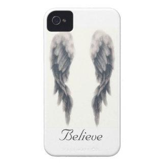 El ángel se va volando el caso del iphone Case-Mate iPhone 4 protectores