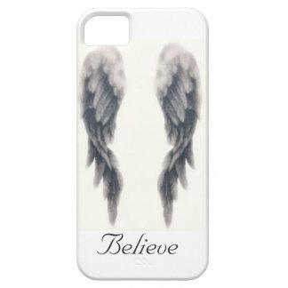 El ángel se va volando el caso del iphone funda para iPhone 5 barely there