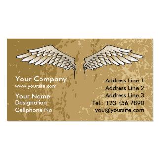 El ángel se va volando fangoso tarjeta de negocio