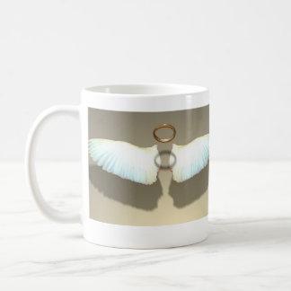 El ángel se va volando la taza de café