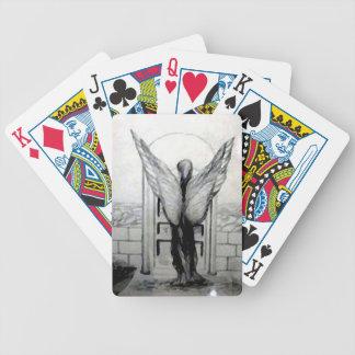 El ángel se va volando productos del diseñador por cartas de juego