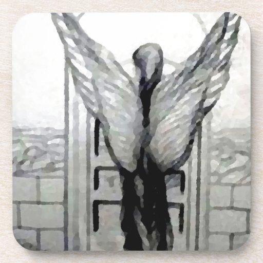 El ángel se va volando productos del diseñador por posavasos de bebida