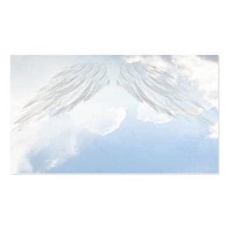 El ángel se va volando tarjetas de visita