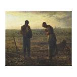 El ángelus por el mijo de Jean-François Lienzo Envuelto Para Galerias