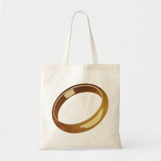 El anillo bolsa tela barata