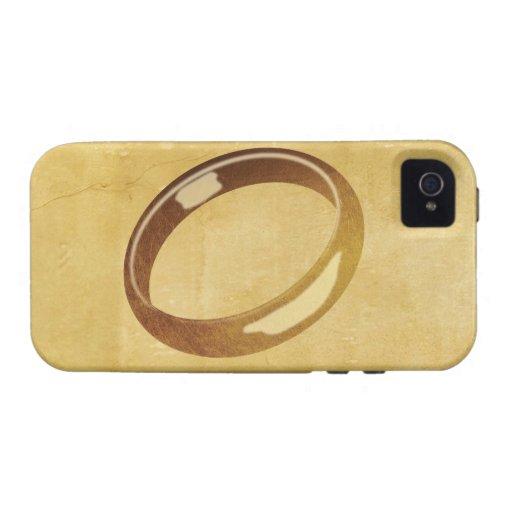 El anillo iPhone 4/4S fundas