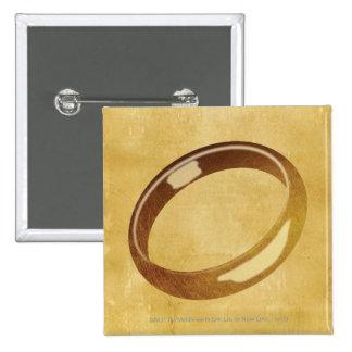 El anillo pin cuadrado