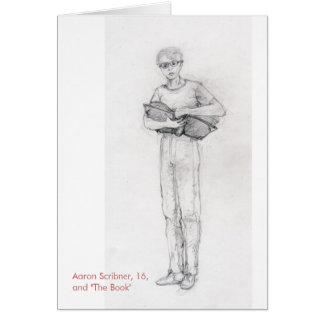 El anillo rojo: Notecard de Aaron y del libro Tarjeta Pequeña