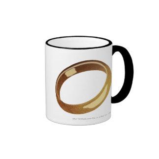 El anillo taza de dos colores