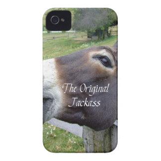 El animal del campo divertido de la mula del burro Case-Mate iPhone 4 carcasa