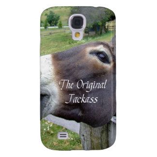 El animal del campo divertido de la mula del burro
