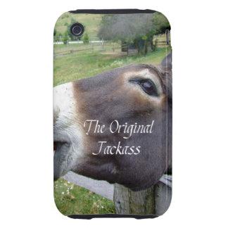 El animal del campo divertido de la mula del burro iPhone 3 tough fundas