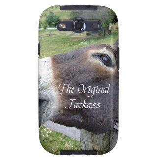 El animal del campo divertido de la mula del burro galaxy s3 cárcasa