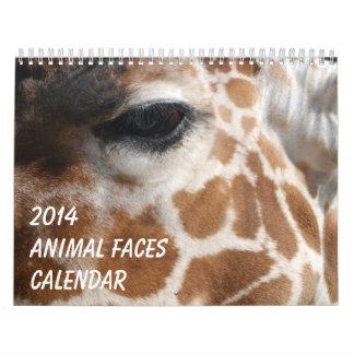 El animal hace frente al calendario