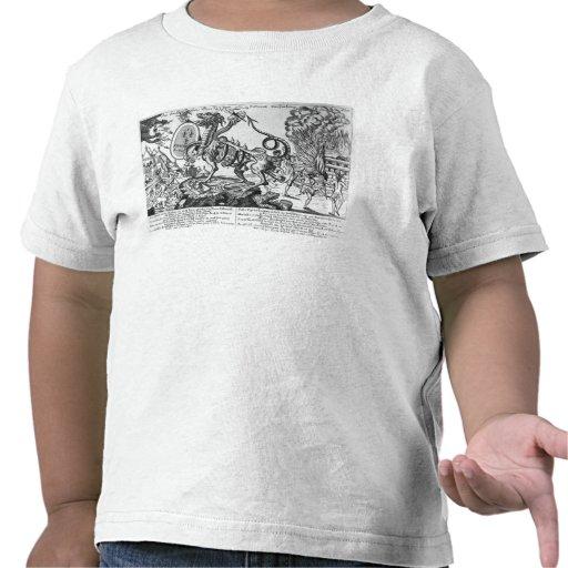 El animal insaciable de la asamblea nacional camisetas