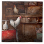 El animal - pollo - el pato es espía azulejos cerámicos