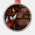 El animal - pollo - el pato es espía adornos de navidad