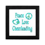 El animar del amor de la paz cajas de recuerdo