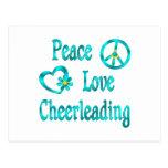 El animar del amor de la paz postales