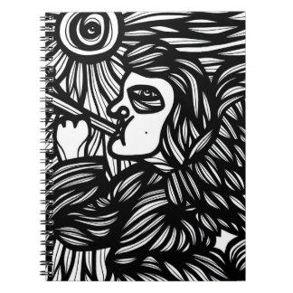 El animar experto limpio apasionado spiral notebooks
