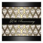 El aniversario de boda del diseño del diamante del anuncios