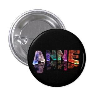 El Anne conocido en luces Pin Redondo De 1 Pulgada