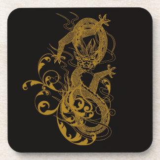 El año chino del dragón 2012 posavasos