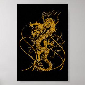 El año chino del dragón 2012 póster
