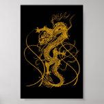 El año chino del dragón 2012 posters