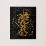 El año chino del dragón 2012 rompecabeza con fotos