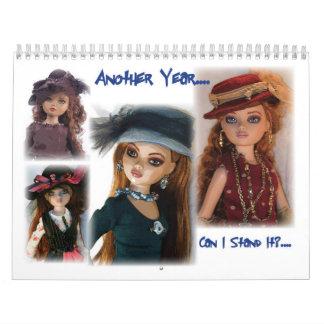 El año de Ellowyne de tedio Calendarios De Pared