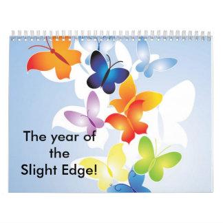 ¡El año del borde leve! Calendarios De Pared
