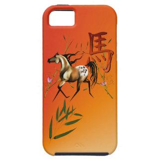 El año del caballo iPhone 5 carcasas