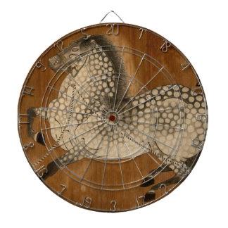 """¡El """"año del caballo"""" un diseño de Kyoto! Tablero Dardos"""