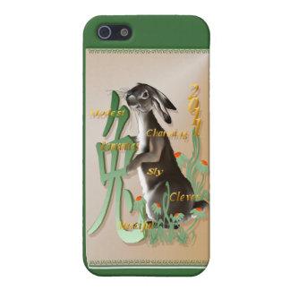 El año del conejo 441__P iPhone 5 Carcasa
