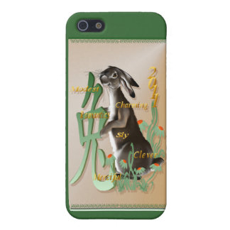 El año del conejo 441__P iPhone 5 Funda
