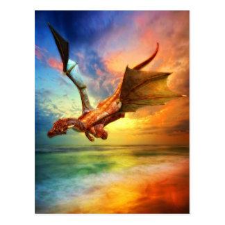 El año del dragón postales